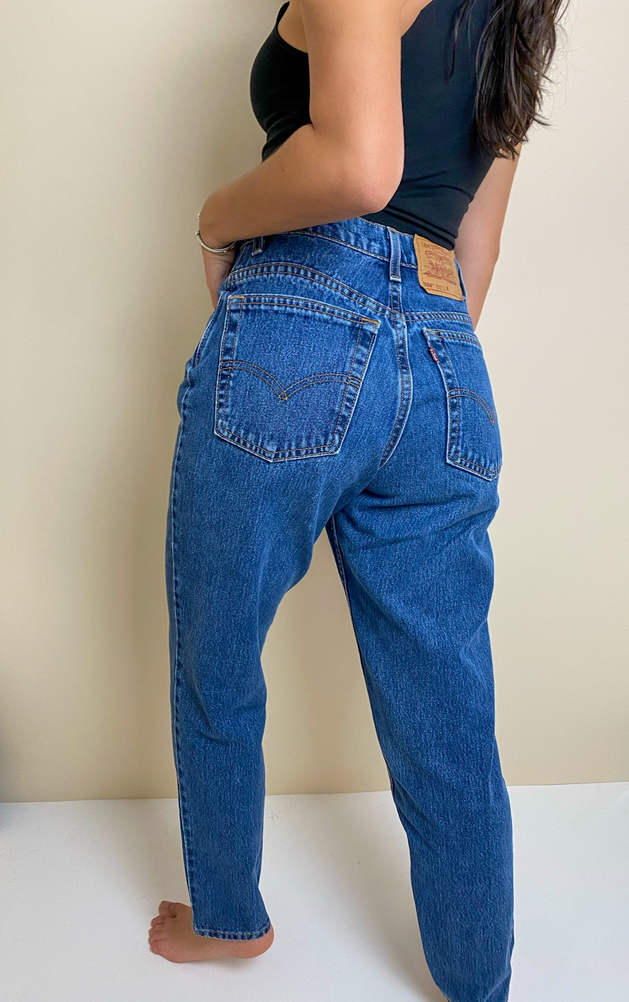 Vintage Levis 550 Relaxed Fit Tapered Leg (27W/ 28L)