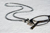 Hematite Eyeglass Necklace
