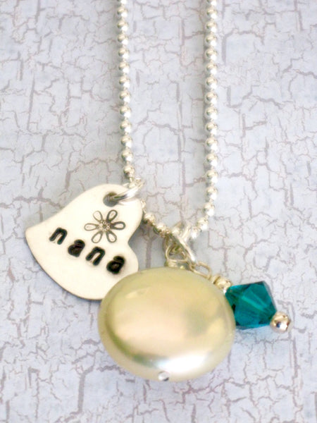 Charmed Pearl Pendant