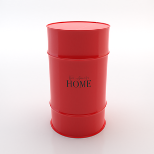 TA HOME - Red/Black text