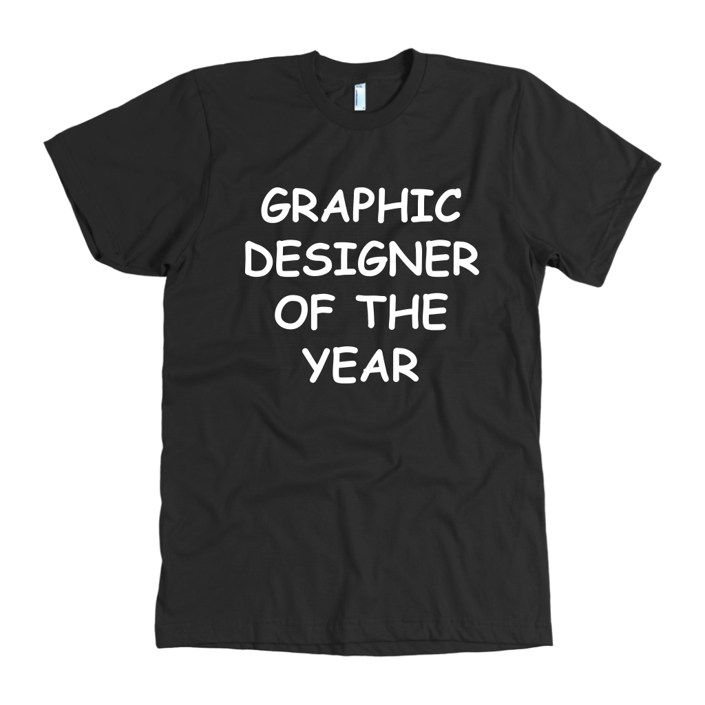 Graphic Designer Of The Year Mens T-Shirt
