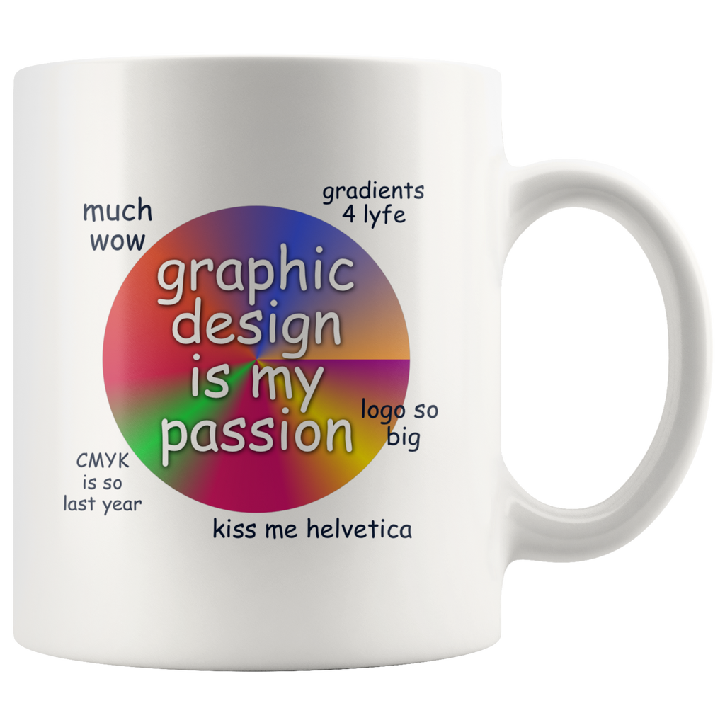 Graphic Design Is My Passion Mug