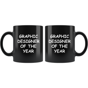 Graphic Designer Of The Year Mug