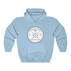 """Wicker Park Bocce Club"" Vintage - Unisex Heavy Blend™ Hooded Sweatshirt"