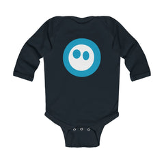 Baby Obie (Blue) - Infant Long Sleeve Bodysuit