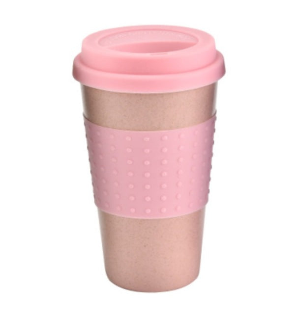 Reusable Eco-friendly Bamboo Fibre Travel Mug
