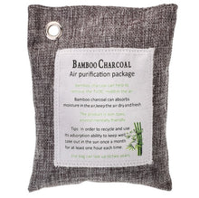 Load image into Gallery viewer, Natural Bamboo Charcoal Air Purifying Bags