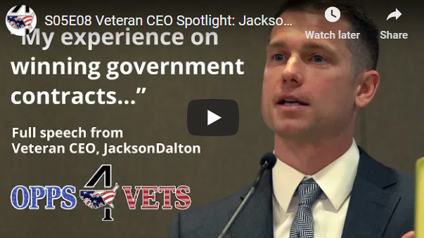 Veteran CEO Spotlight: Jackson Dalton on How His SDVOSB Won Government Contracts