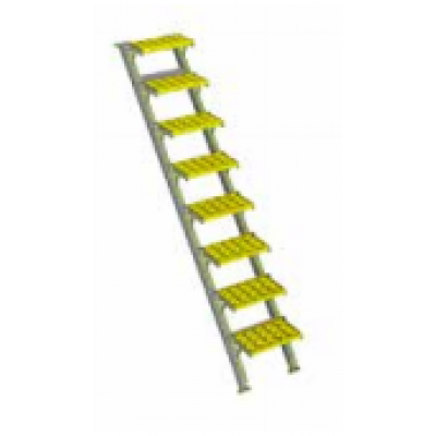 Tuff Built Products Portable Walkway/Ramp, Wide, 16 steps. SKU# 15022