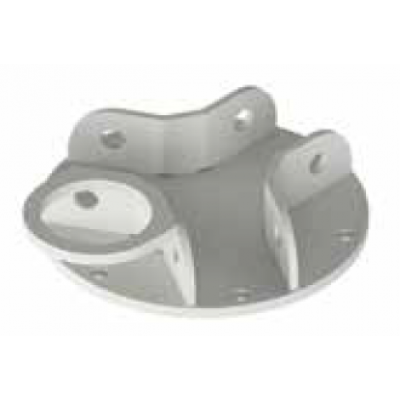 Tuff Built Products Weld On/Bolt On Plate for Tri-Post c/w 1 Tie Off Anchor. SKU# 30284
