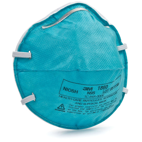 3M Health Care Particulate Respirator and Surgical Mask 1860