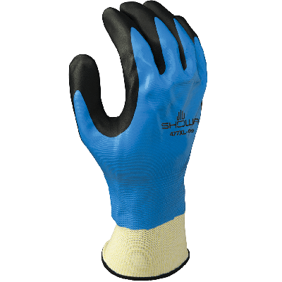SHOWA 477 Cold resistant Glove (Blue)