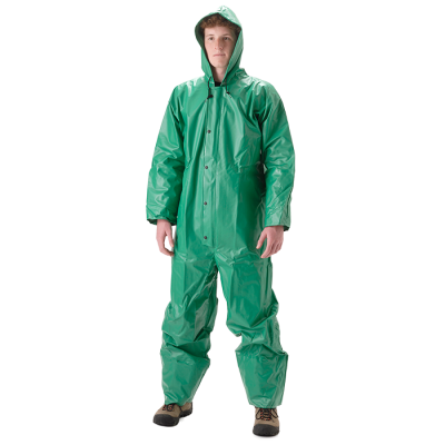 NASCO Rainwear AcidBasic Coverall w/Hood 528CVG