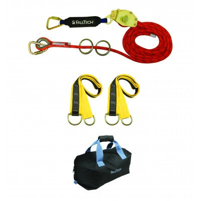 FallTech 2-Person 60' Horizontal Lifeline Kit 77302K