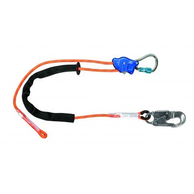 FallTech TowerClimber 16.5' Adjustable Positioning Lanyard 8165D65