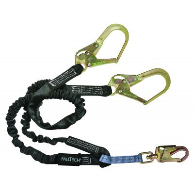 FallTech Heavyweight Y-leg 6' Shock Absorbing Lanyard 8246Y3
