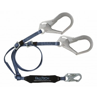 FallTech Viewpack  6' Adjustable Y-leg Lanyard 826073ADJ