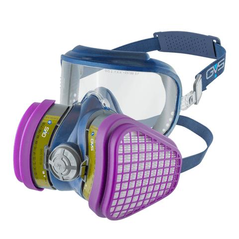 Integra Multigas P100 Ready-to-Use Mask with replaceable Filters