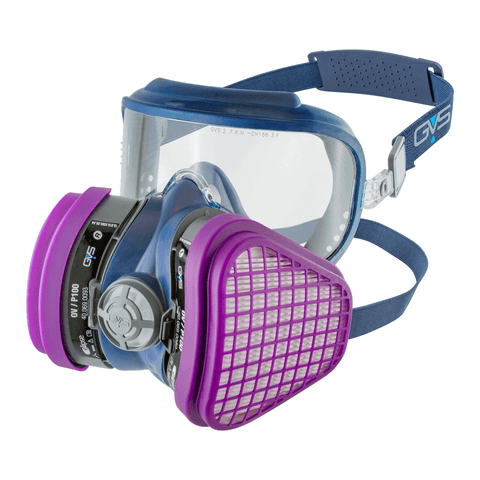 Integra OV/P100 Ready-to-Use Mask with replaceable filters
