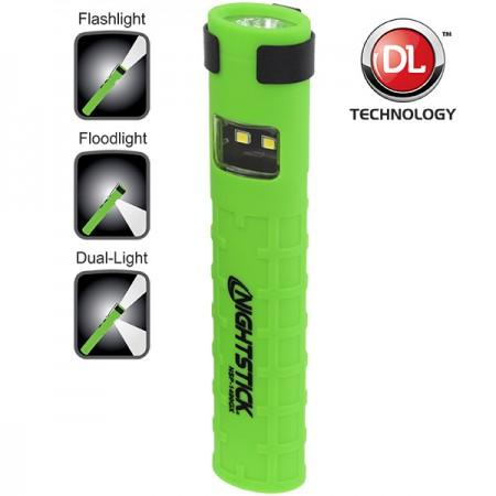 Nightstick X-Series Dual-Switch Dual-Light Flashlight - Green NSP-1400GX