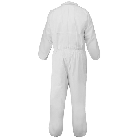 FrogWear Premium Microporous PE Film-Laminated Coveralls with Collar