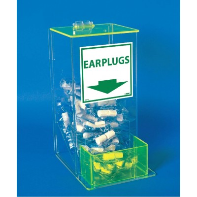 National Marker Company Acrylic Earplugs Dispenser (Earplugs Sold Separately) AEP-D