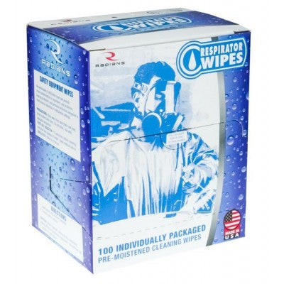 Radians Respirator Wipes (100 ct) RWAF-100