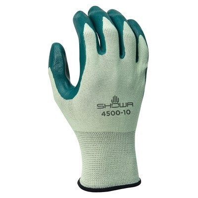SHOWA 4500 Nitrile Palm Coated General Purpose Work Glove
