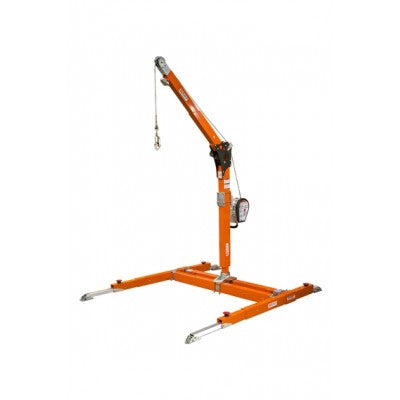 Tuff Built Products Pro-3 Hoist System 28 Offset, Upper & Lower Mast w/Portable Base,Winch & Winch Bracket, P/N 20035