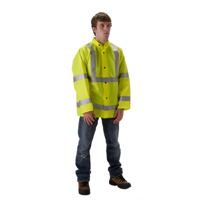 NASCO WorkLite HiVis 80 Series Rain Jacket 80JFY455