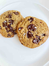 Load image into Gallery viewer, 2 NON-Vegan Dark Chocolate, Sea Salt, Freshly Baked, Life-Altering Cookies