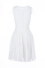 Load image into Gallery viewer, METI skater dress bianco