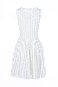 METI skater dress bianco