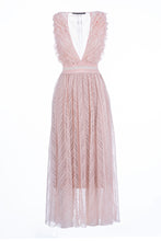 Load image into Gallery viewer, AGLAIA long dress soft rose