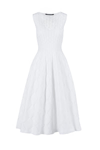 ERA long dress bianco