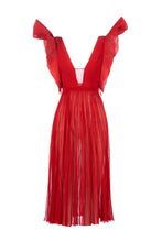Load image into Gallery viewer, MEDUSA long dress rosso lucente
