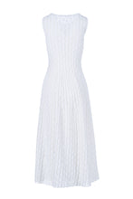Load image into Gallery viewer, ALCIONE long dress bianco