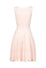 Load image into Gallery viewer, DAFNE Skater dress bianco/soft rose