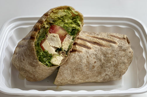 Grilled Chicken Wrap - FIT BY ELIA
