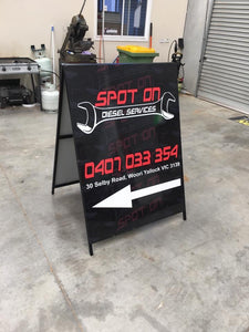 A Board Sign - 900x1200mm