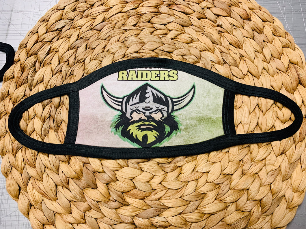 Face Mask - Canberra Raiders