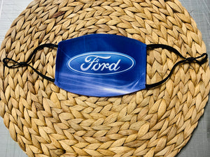 Face Mask - Ford Logo