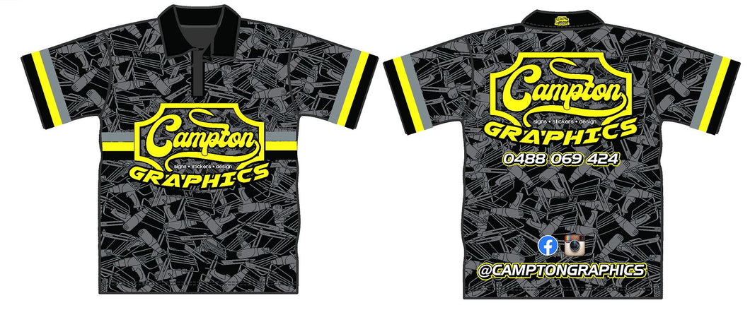Campton Graphics Dye Sublimated T Shirt