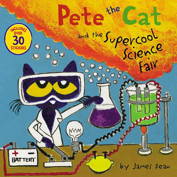 Pete the Cat et la foire scientifique Supercool