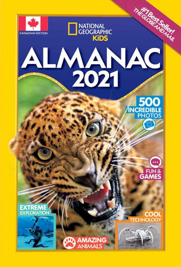 National Geographic Kids: Almanac 2021 (Canadian Edition)