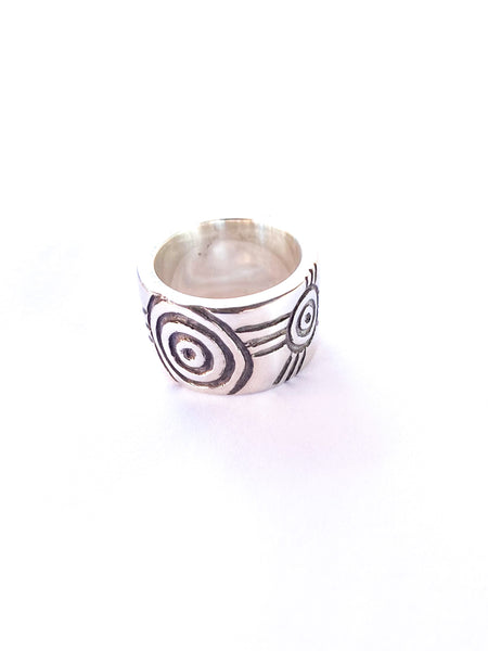 "Birrang ""Journey"" Sterling Silver Ring"