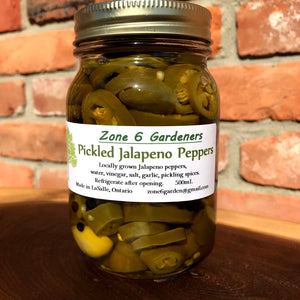 Pickled Jalapeno Peppers