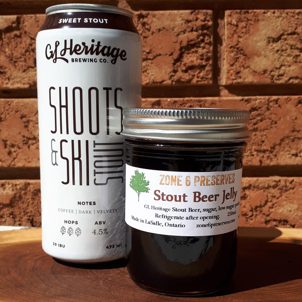 Stout Beer Jelly