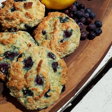 Load image into Gallery viewer, Blueberry Lemon Scones