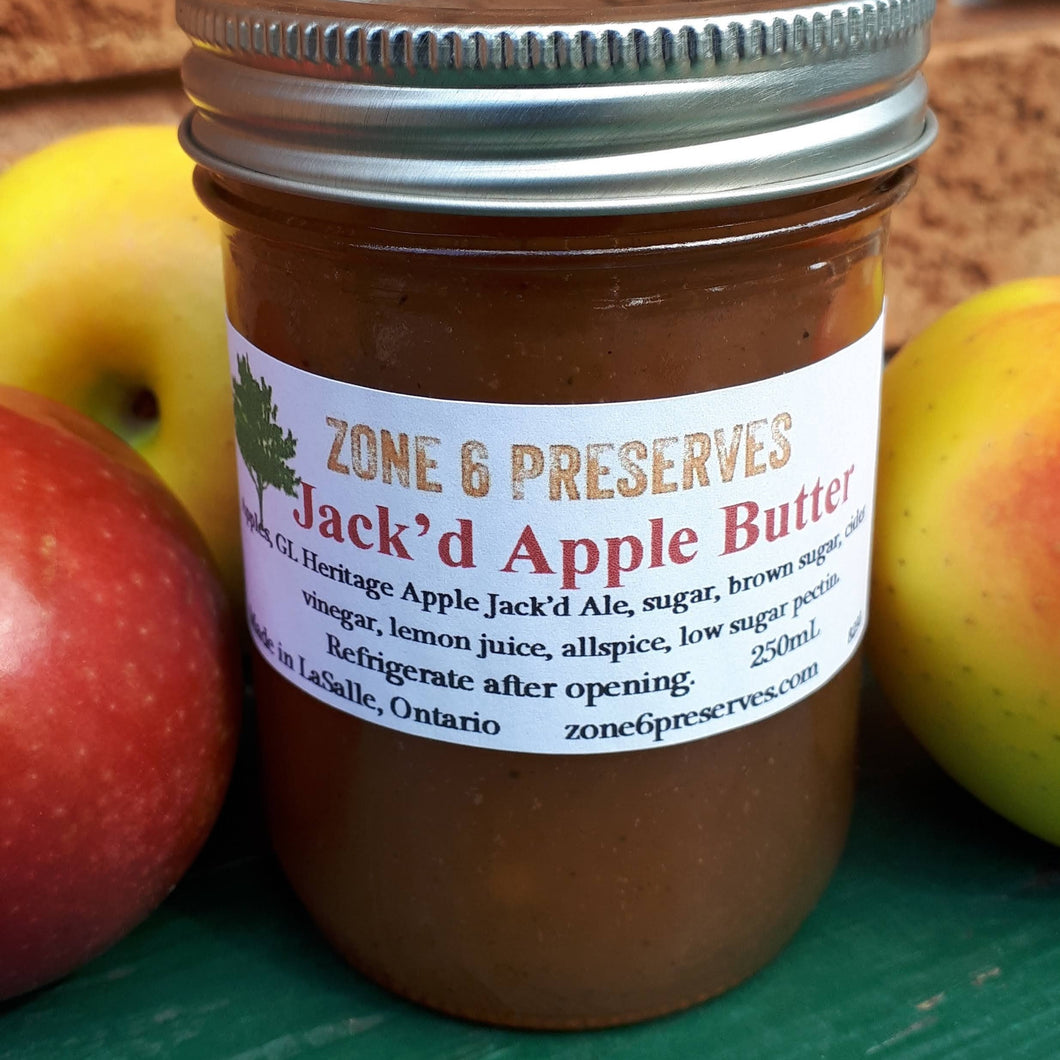 Jack'd Apple Butter